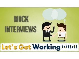 Mock job interview for your practice