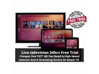 Live television 24 hrs Free Trial