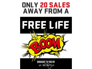 Only 20 Sales Away From A Free Life