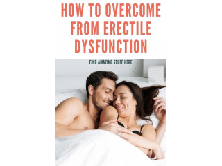 The Ultimate At Home Erectile Dysfunction Solution