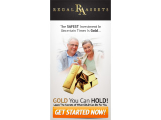 START YOUR REGAL IRA™ ACCOUNT IN 4 EASY STEPS