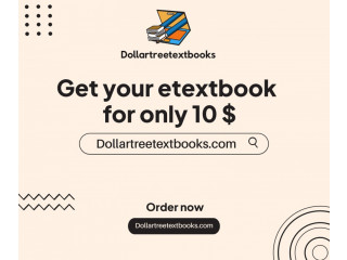 Get your semester Digital textBook for only 10$ now from our site